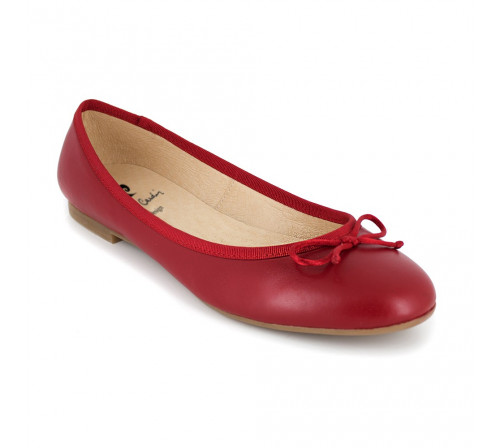 Ballerina Pierre Cardin Red Leather PC1704OV