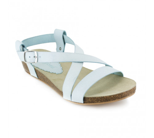 Sandal J.Bradford Light Blue Leather JB-ANAIS