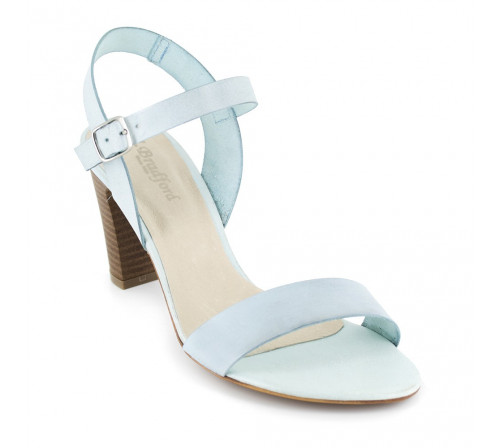 Sandal J.Bradford Light Blue Leather JB-ALFA