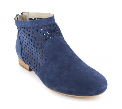Boot J.Bradford Blue Leather JB-AMY