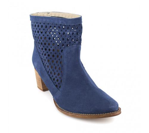 Boot J.Bradford Blue Leather JB-ALTEA
