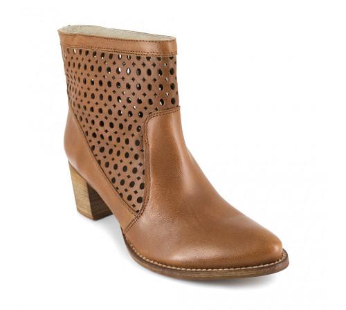 Boot J.Bradford Camel Leather JB-ALTEA