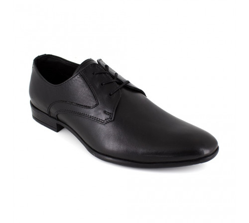 Derby J.Bradford Black Leather FORDUKO