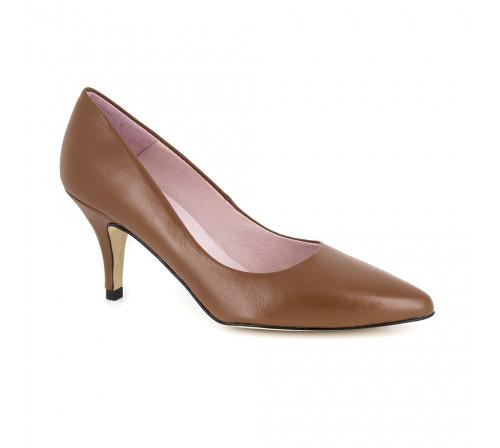 Stiletto J.Bradfod Cognac Leather