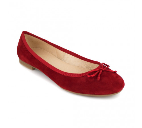 Ballerina J.Bradford Red Leather JB-MIRANDA