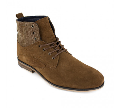 Bottine Peter Blade Cuir Camel PUNKY