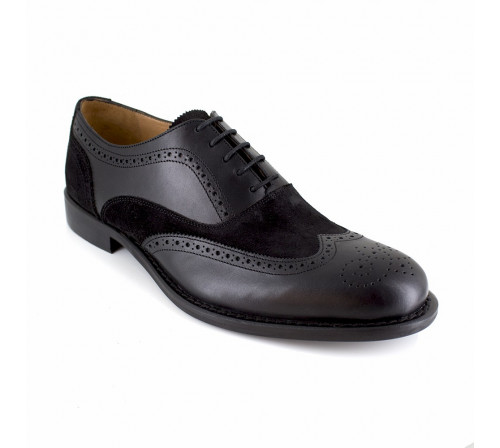 Derby J.Bradford Black Leather JB-AVETS