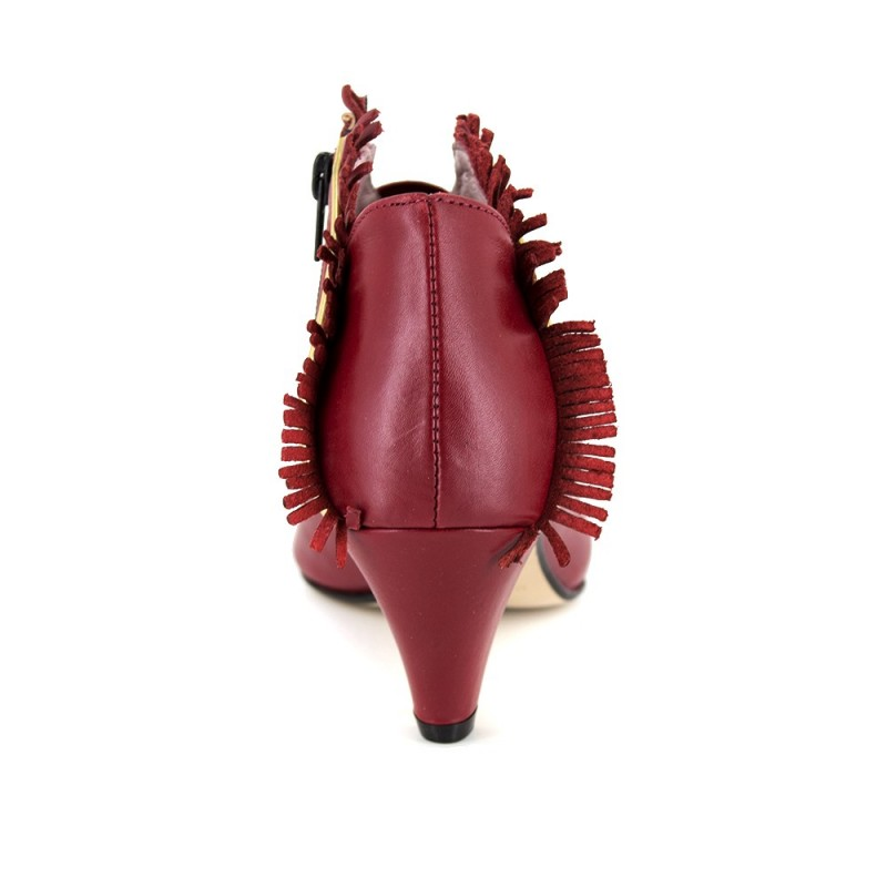 Bottine Loca lova Cuir Rouge LL106- Couleur - Rouge 6JV6adHR8