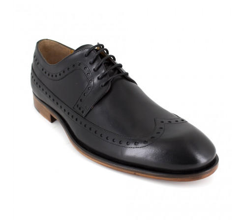 Derby J.Bradford Black Leather QUETO
