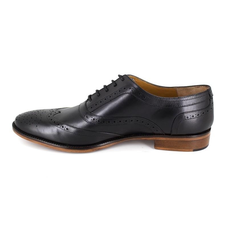Richelieu Peter Blade Cuero Negro Dragon - Color - Negro, Talla Zapatos - 44