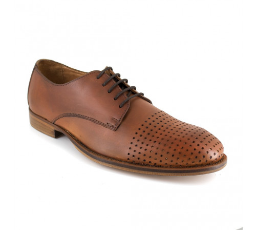 Derby J.Bradford Cognac Leather MILLAS