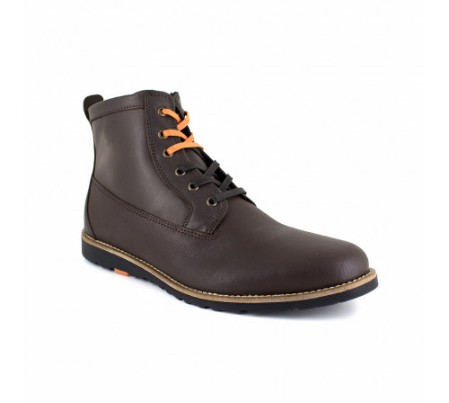 Low Boot Peter Blade Brown Leather PACHUCA