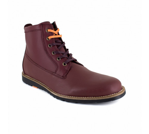 Low Boot Peter Blade Burgundy Leather PACHUCA