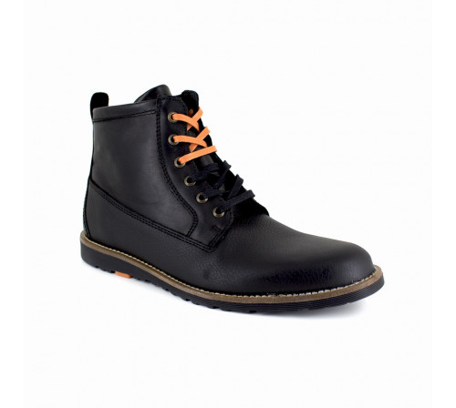 Low Boot Peter Blade Black Leather PACHUCA