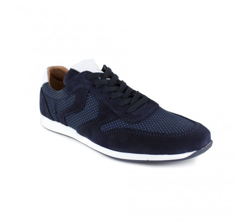 Sneaker Peter Blade Blue Leather TEPIC
