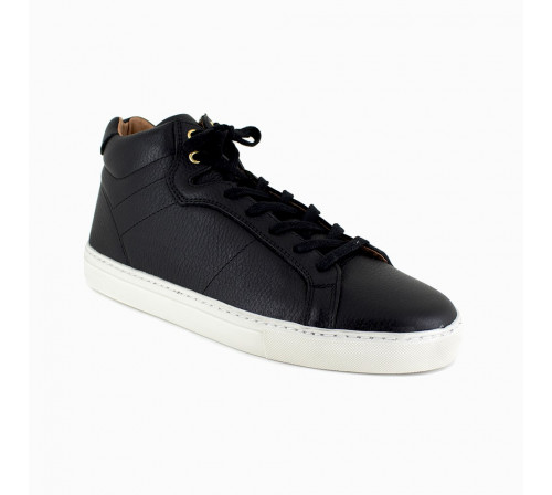 Sneaker Peter Blade Black Leather NAZATLAND