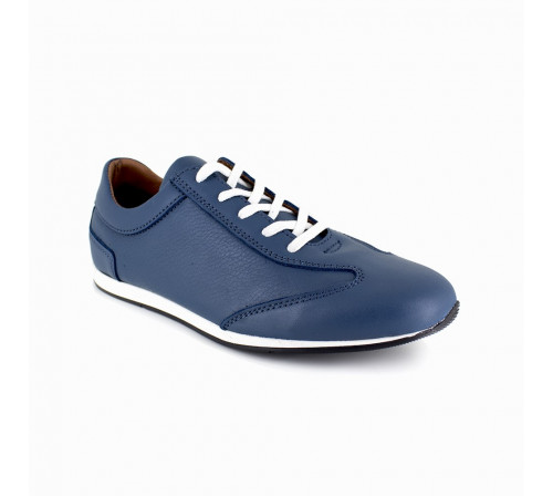 Sneaker Peter Blade Blue Leather CANCUN