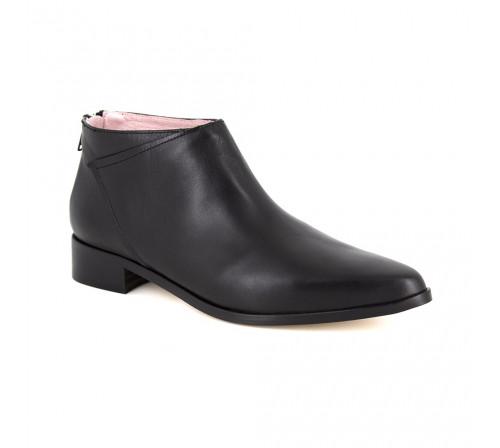 Boots Loca Lova Black Leather LL110