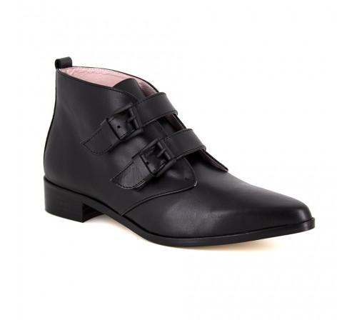 Boots Loca Lova Black Leather LL105