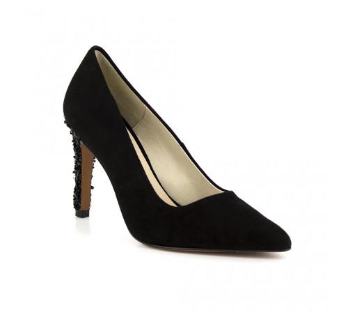 Stiletto Pierre Cardin Black Leather PC1704IL