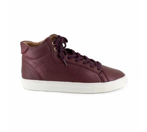 Sneaker Pierre Cardin Burgundy Leather PC1711MN