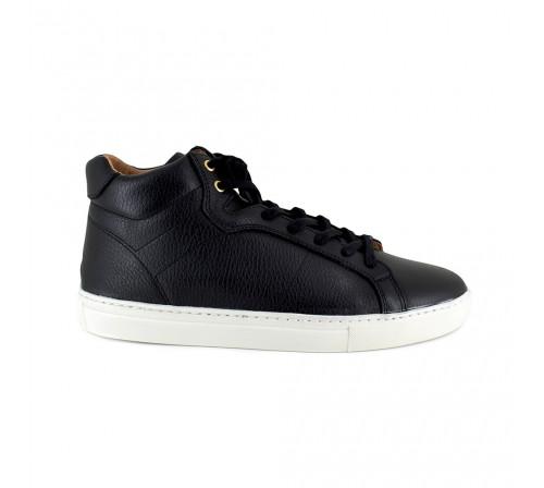 Sneaker Pierre Cardin Black Leather PC1711MN