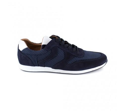 Sneaker Pierre Cardin Blue Leather PC1711ST