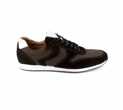 Basket Pierre Cardin Cuir Marron PC1711ST