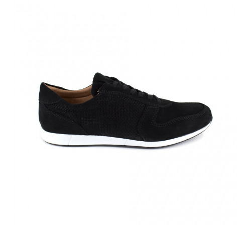 Sneaker Pierre Cardin Black Leather PC1711UV