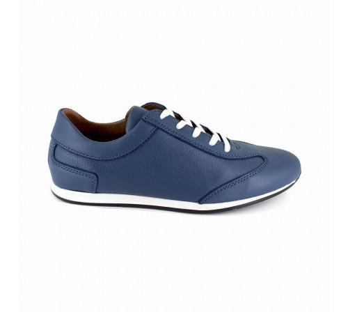 Sneaker Pierre Cardin Blue Leather PC1711QR