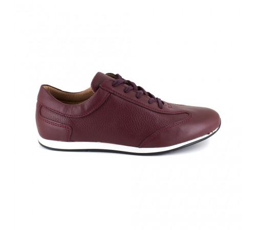 Sneaker Pierre Cardin Burgengy Leather PC1711QR