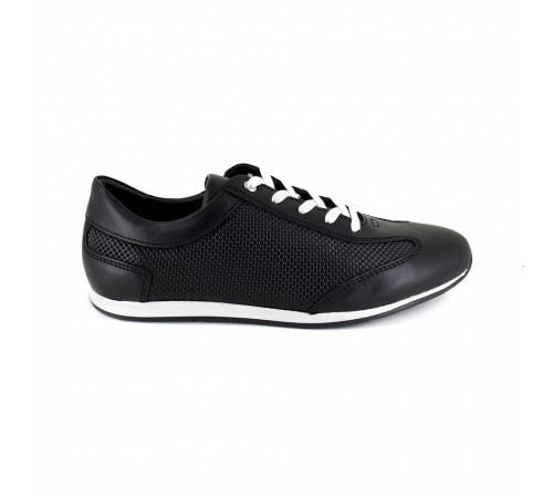 Sneaker Pierre Cardin Black Leather PC1711QR