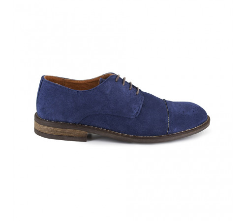 Derby Pierre Cardin Blue Leather PC1704RC