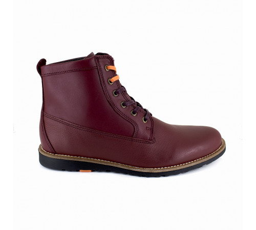 Bottine Pierre Cardin Cuir Bordeaux PC1711OP