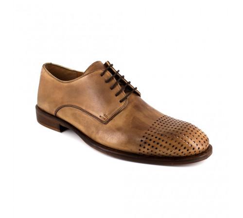 Derby Pierre Cardin Brown Leather PC1801FK