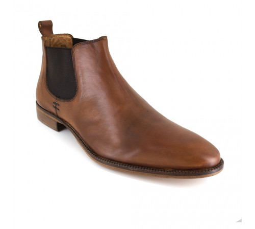 Low Boots Pierre Cardin Tabaco Leather PC1710BR