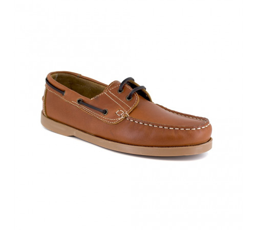 Boat Loafer J.BRADFORD Cognac Leather JB-SAIL