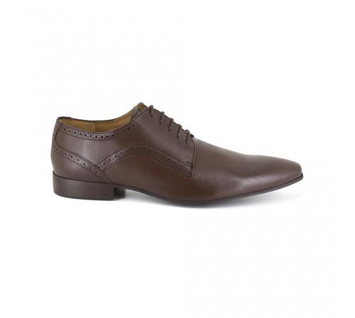 Derby Pierre Cardin Brown Leather PC1709LP
