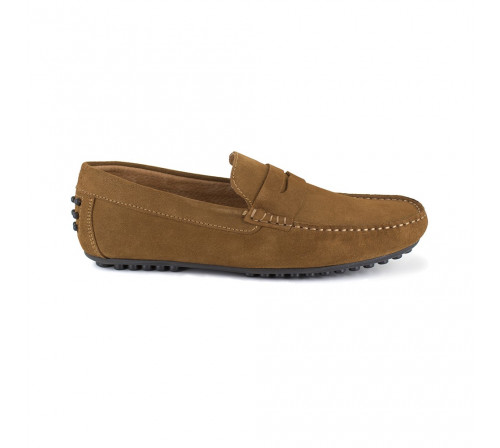 Loafer Peter Blade Cognac Leather BASIL