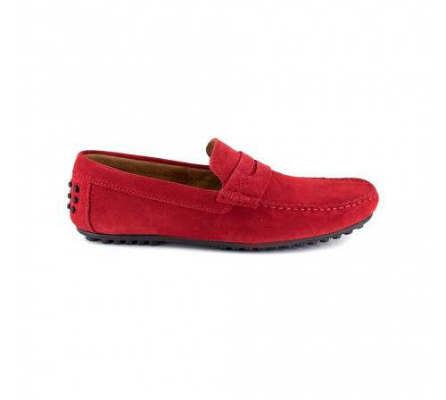 Loafer Peter Blade Red Leather BASIL