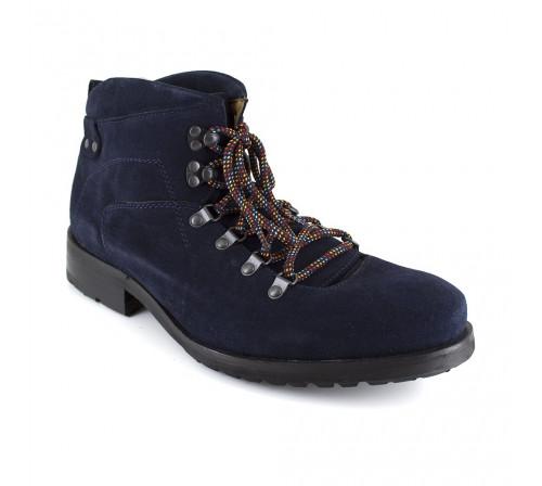 PETER BLADE Boots Velours Homme LUGE Bleu
