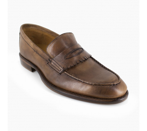 Loafer Pierre Cardin Camel Leather PC1704MS