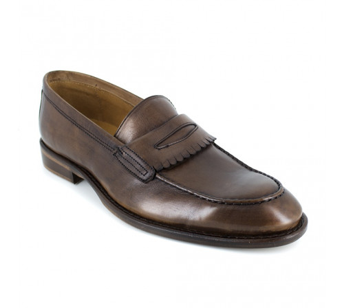 Loafer Pierre Cardin Brown Leather PC1704MS
