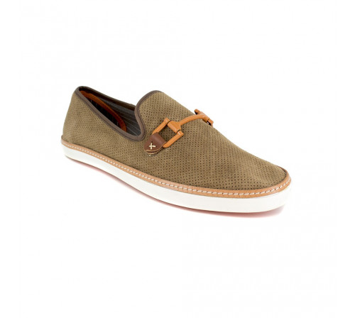 Slipper Peter Blade Brown Leather VALEZY