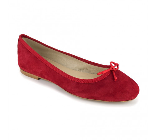 Ballerine Pierre Cardin Cuir Rouge PC1704MR