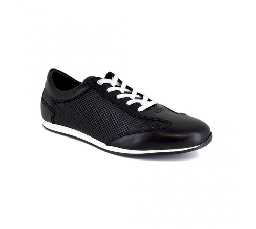 Sneaker J.Bradford Black Leather JB-IRAZU