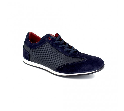 Sneaker J.Bradford Blue Leather JB-TEAHUPO