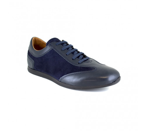 Sneaker J.Bradford Blue Leather JB-TAVAO