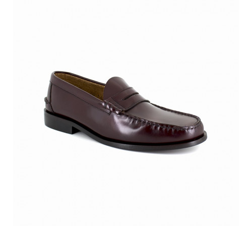 Loafer J.Braddford Burgendy Leather JB-COLIN
