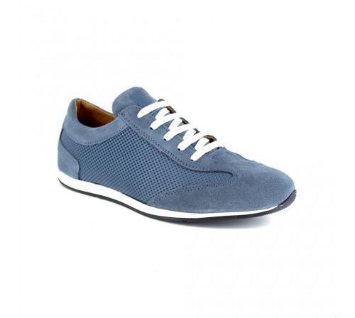 Sneaker J.Bradford Blue Jean Leather JB-RAHIC